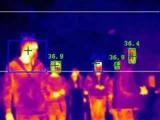 高新兴携蜂群研究院,捐赠5G测温巡逻机器人