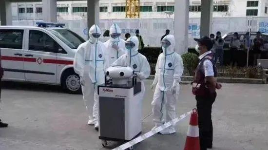 """智能化战""""疫""""   华北工控嵌入式计算机在消毒机器人中的应用"""