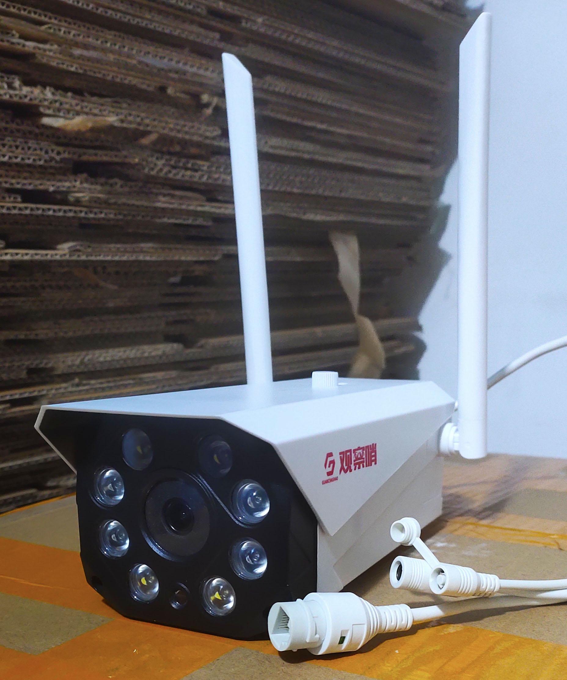 供应 观察哨300万像素无线插卡摄像机 全彩 红外或切换 超高清