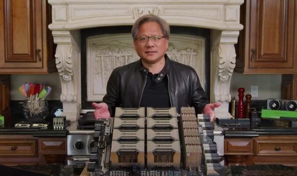 """英伟达扔出20枚""""AI核弹""""!540亿个晶体管的GPU,一个机柜秒数据中心"""