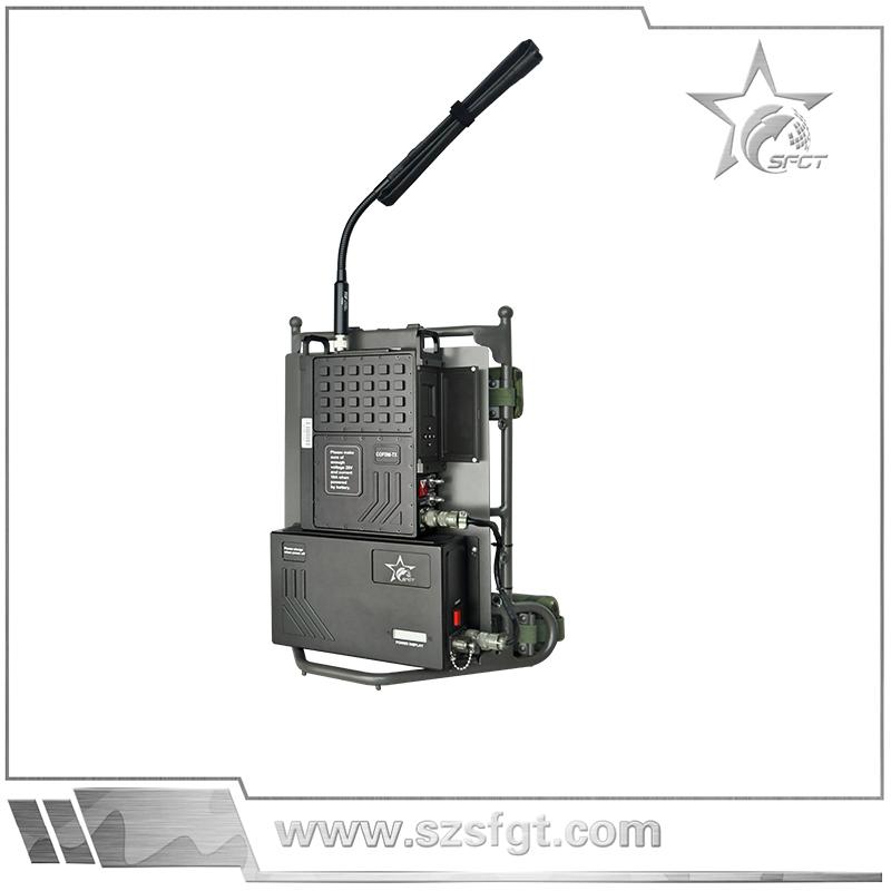 单兵背负式视频传输发射机 单兵户外视频传输 无线图像传输系统,户外视频语音对讲系统
