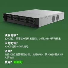 新品发布:天地伟业K1000视频平台一体机