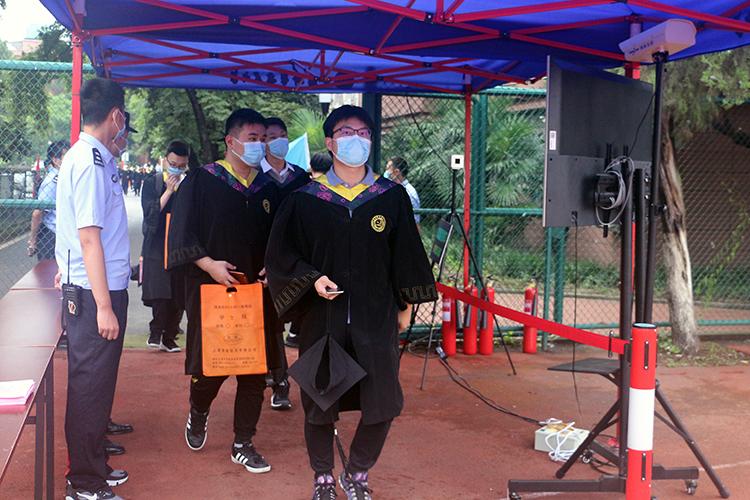 清新互联助力中科大2020届毕业典礼疫情防控
