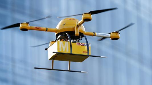 快递进村大有可为 扩大无人机的应用范围