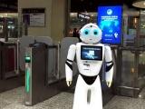 火车站智能机器人让出行更加智能