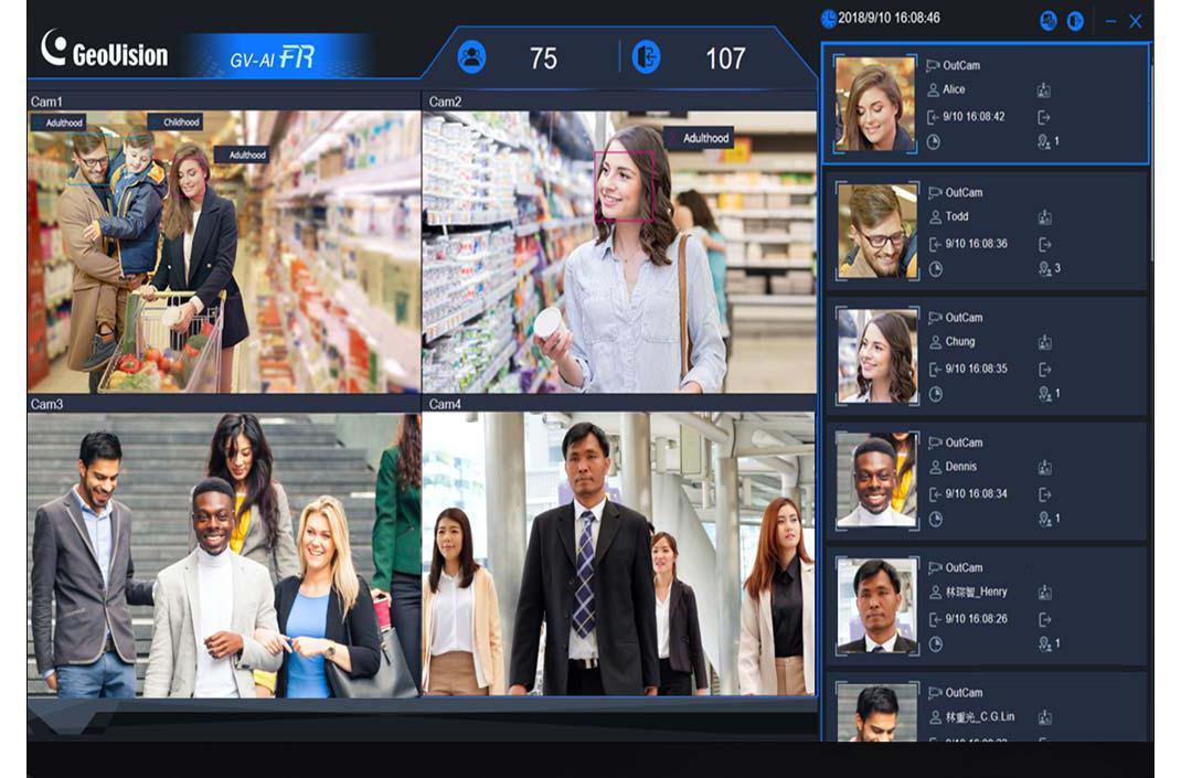人脸识别软件平台集成应用