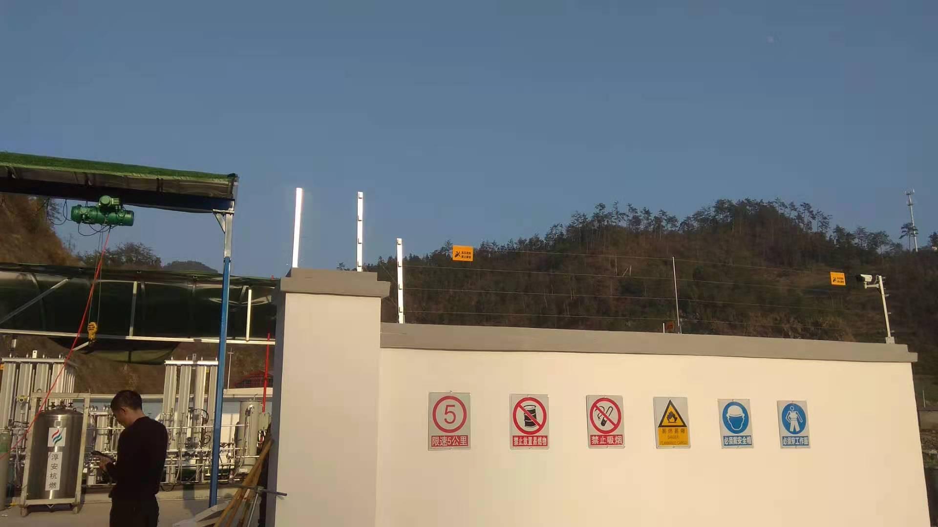 无锡中小学电子围栏安装 江阴宜兴工厂电子围栏系统