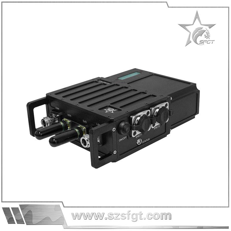 单兵视频传输自组网系统,便携式视频传输发射机