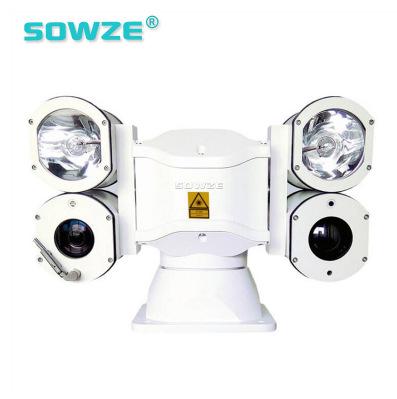 守望者四筒高清车载云台摄像机定制型可搭配白光灯红外灯激光热成像机