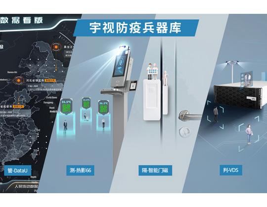 阻击德尔塔病毒,宇视推出四件称手兵器
