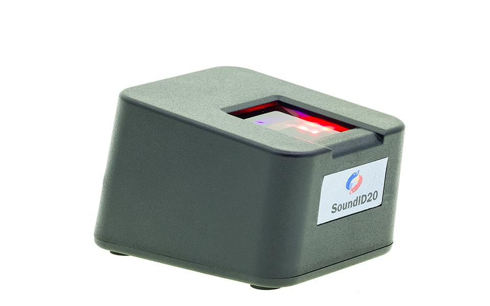 单指平面采集防伪识别指纹采集仪SoundID20